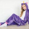 Кигуруми фиолетовый единорог