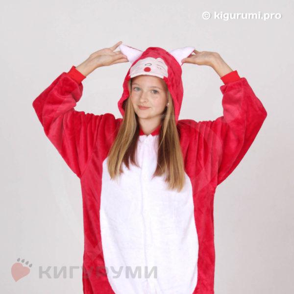 Кигуруми Красный котенок