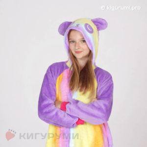 Кигуруми Радужная панда